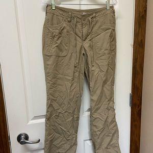 North Face hiking pants sz 6
